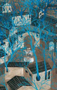 L'albero azzurro in mostra