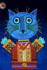 Il gatto Mirò in viaggio per la Cina